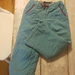 Mini Boden corduroy pants - size 4, VGUC